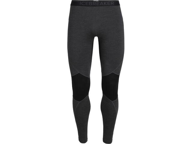 Icebreaker 260 Zone Leggings Heren, jet heather/black